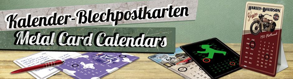 Calendari cartolina 10 x 14 cm