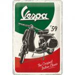Cartello 20 x 30 cm Vespa - The Italian Classic