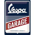 Cartello 30 x 40 cm Vespa - Garage
