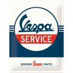 Cartello 30 x 40 cm Vespa - Service