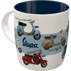 Tazza in ceramica Vespa - Model Chart