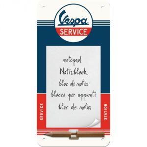 Notes magnetico Vespa - Service, 10 x 20 cm