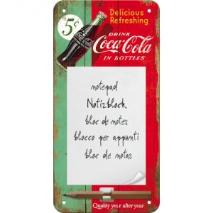 Notes magnetico Coca Cola