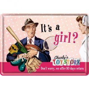 It's a girl?