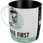 Tazza in ceramica Coffee First