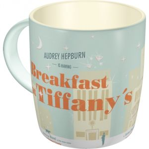 Tazza in ceramica Breakfast at Tiffany