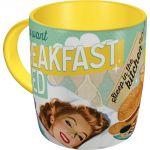 Tazza in ceramica Breakfast & Bed