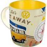 Tazza in ceramica Wolkswagen Let's Get Away