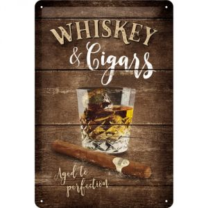 Cartello Whisky & Cigars