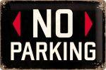 Cartello No parking