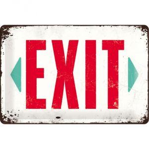Cartello Exit