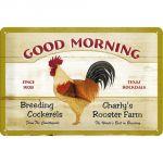 Cartello Good Morning