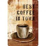 Cartello Best Coffee