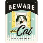 Cartello Beware of the Cat