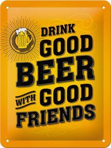 Cartello Drink Good Beer