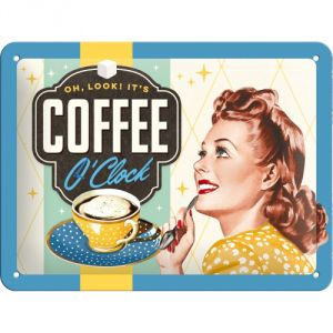 Cartello Coffee O'clock