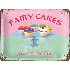 Cartello Fairy cakes