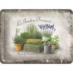 Cartello Le Jardin Francais
