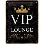 Cartello Vip Lounge nero
