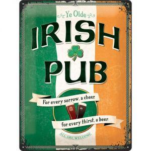 Cartello Irish Pub