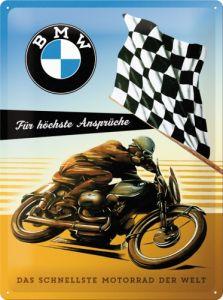 Cartello BMW Moto