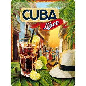 Cartello Cuba Libre