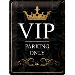 Cartello Vip Parking