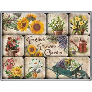English Flowers Garden