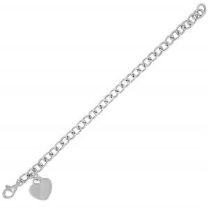 Pendant heart bracelet - medium size