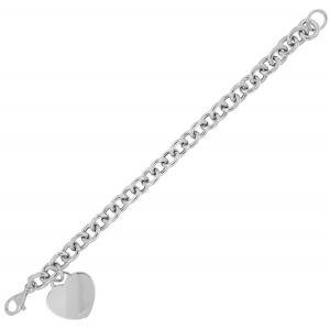 Pendant heart bracelet - big size