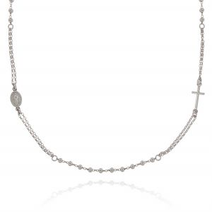 Collana rosario D&G con palline lucide