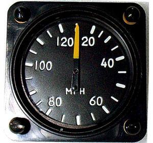 ANEMOMETRO analogico Falcon Gauge 0-120 Km/h - Diam. 57 mm