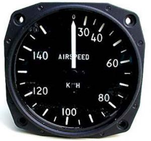 ANEMOMETRO analogico Falcon Gauge 0-150 Km/h - Diam. 80 mm