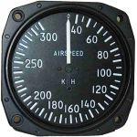 Anemometro analogico Falcon Gauge 0-300 Km/h - diam. 80mm