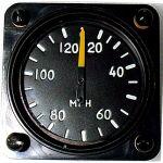 Anemometro analogico Falcon Gauge 20-120 Km/h- Diam. 57 mm