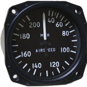 Anemometro analogico Falcon Gauge 30-200 MPH - Diam. 80 mm