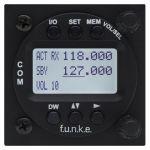 ATR833-LCD VHF Transceiver 8,33kHz, 57mm housing