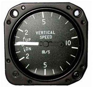 VARIOMETRO Falcon Gauge -/+ 10m/s - Diam. 57 mm