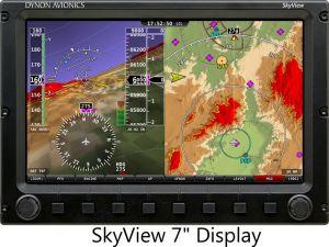"Skyview SV-D1000 10"" SOLO DISPLAY NSV"