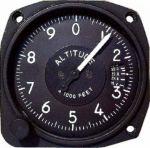 Altimetro UMA non TSO'd 0-20000