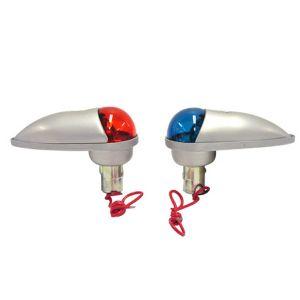 Coppia lampade USA solo con nav rossa-verde