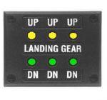 Gear Warning - Spie luminose per segnalazione carr