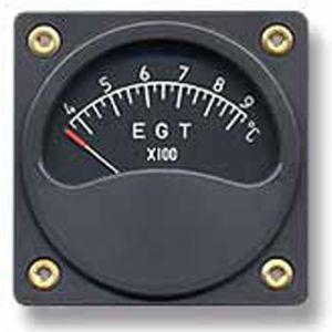 Indicatore temperatura 1 lancetta EGT scarichi Diam. 57mm