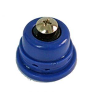 Notolino blu per braccetto metallo