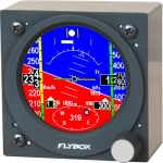 Oblò-AP-Autopilota con orizzonte artificiale - EFIS FlyBox - Diam. 80 mm