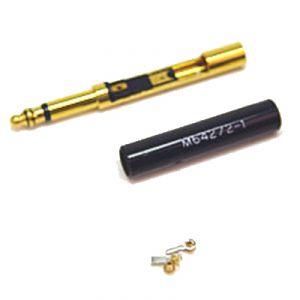 Spina Jack 6,3 mm - MONO audio Aeronautica MIL - spezionabile con connessioni interne a vite.