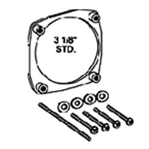 Staffa NUT RING per montaggio strumenti diam. 80mm - MK-01