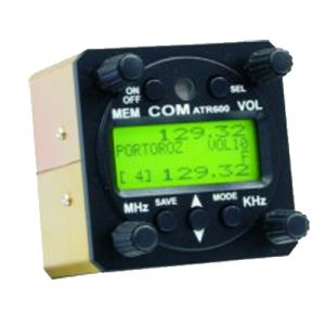 Twin-seat control unit ATR833, 57mm housing, LCD Display, only for 2 knop version